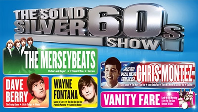 The Solid Silver 60s Show Tickets at Southport Theatre & Convention Centre,