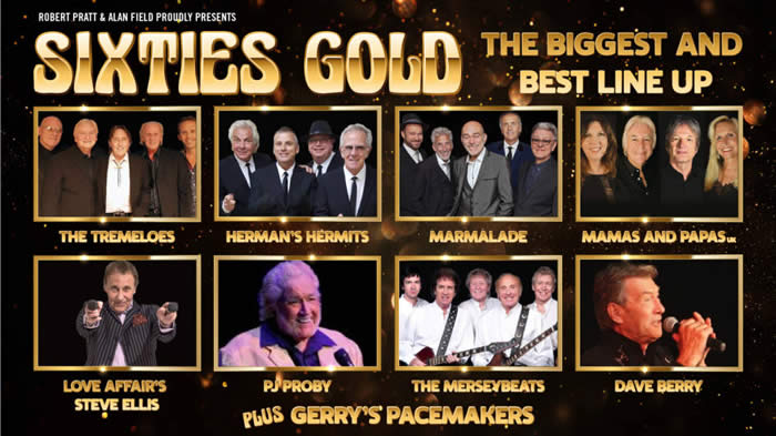 Sixties Gold - 24 Oct 2021 - The Bridgewater Hall